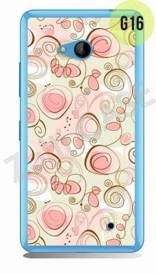 Etui Zolti Ultra Slim Case - Lumia 640 - Girls Stuff - Wzór G16