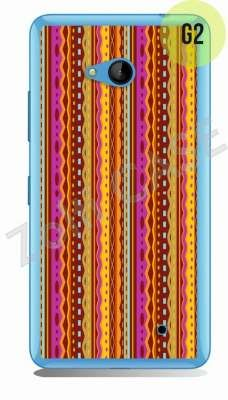 Etui Zolti Ultra Slim Case - Lumia 640 - Girls Stuff - Wzór G2