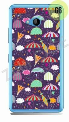 Etui Zolti Ultra Slim Case - Lumia 640 - Girls Stuff - Wzór G6