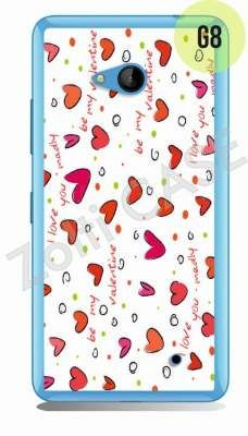 Etui Zolti Ultra Slim Case - Lumia 640 - Girls Stuff - Wzór G8
