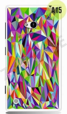 Etui Zolti Ultra Slim Case - Lumia 720 - Abstract - Wzór A15