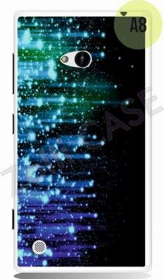 Etui Zolti Ultra Slim Case - Lumia 720 - Abstract - Wzór A8