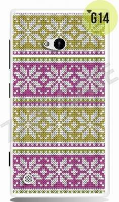 Etui Zolti Ultra Slim Case - Lumia 720 - Girls Stuff - Wzór G14