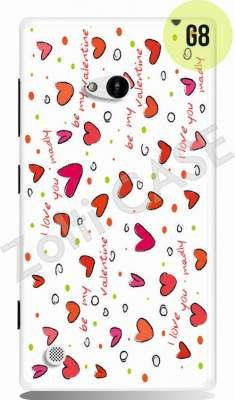 Etui Zolti Ultra Slim Case - Lumia 720 - Girls Stuff - Wzór G8