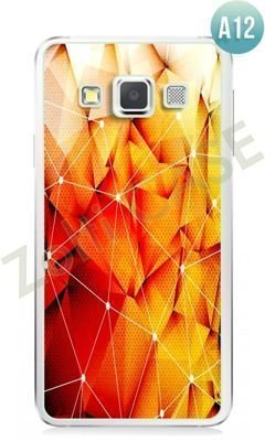 Etui Zolti Ultra Slim Case - Samsung Galaxy A3 - Abstract - Wzór A12