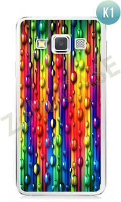 Etui Zolti Ultra Slim Case - Samsung Galaxy A3 - Colorfull - Wzór K1