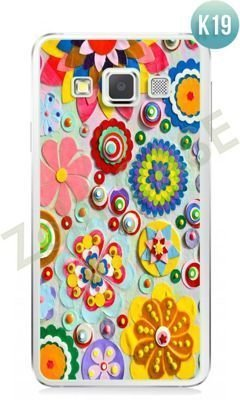 Etui Zolti Ultra Slim Case - Samsung Galaxy A3 - Colorfull - Wzór K19