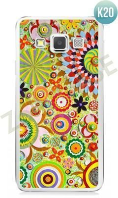 Etui Zolti Ultra Slim Case - Samsung Galaxy A3 - Colorfull - Wzór K20