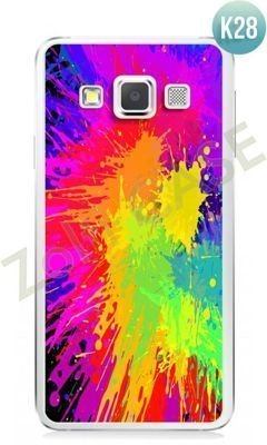 Etui Zolti Ultra Slim Case - Samsung Galaxy A3 - Colorfull - Wzór K28