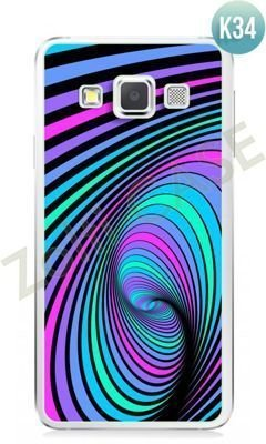 Etui Zolti Ultra Slim Case - Samsung Galaxy A3 - Colorfull - Wzór K34