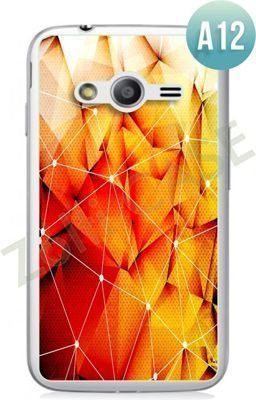 Etui Zolti Ultra Slim Case - Samsung Galaxy Ace 4 - Abstract - Wzór A12