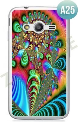 Etui Zolti Ultra Slim Case - Samsung Galaxy Ace 4 - Abstract - Wzór A25