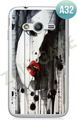 Etui Zolti Ultra Slim Case - Samsung Galaxy Ace 4 - Abstract - Wzór A32