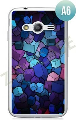 Etui Zolti Ultra Slim Case - Samsung Galaxy Ace 4 - Abstract - Wzór A6
