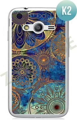 Etui Zolti Ultra Slim Case - Samsung Galaxy Ace 4  - Colorfull - Wzór K2