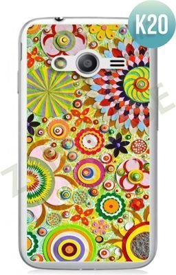 Etui Zolti Ultra Slim Case - Samsung Galaxy Ace 4  - Colorfull - Wzór K20