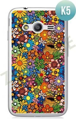 Etui Zolti Ultra Slim Case - Samsung Galaxy Ace 4  - Colorfull - Wzór K5