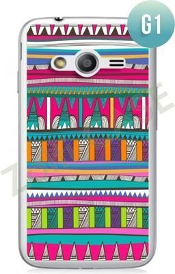 Etui Zolti Ultra Slim Case - Samsung Galaxy Ace 4 - Girls Stuff - Wzór G1