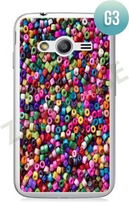 Etui Zolti Ultra Slim Case - Samsung Galaxy Ace 4 - Girls Stuff - Wzór G3