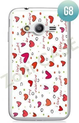 Etui Zolti Ultra Slim Case - Samsung Galaxy Ace 4 - Girls Stuff - Wzór G8