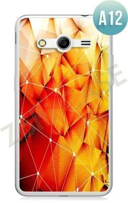 Etui Zolti Ultra Slim Case - Samsung Galaxy Core 2 - Abstract - Wzór A12