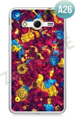 Etui Zolti Ultra Slim Case - Samsung Galaxy Core 2 - Abstract - Wzór A26