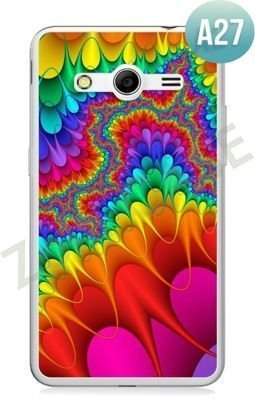 Etui Zolti Ultra Slim Case - Samsung Galaxy Core 2 - Abstract - Wzór A27