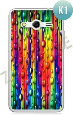 Etui Zolti Ultra Slim Case - Samsung Galaxy Core 2 - Colorfull - Wzór K1