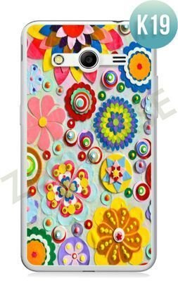 Etui Zolti Ultra Slim Case - Samsung Galaxy Core 2 - Colorfull - Wzór K19