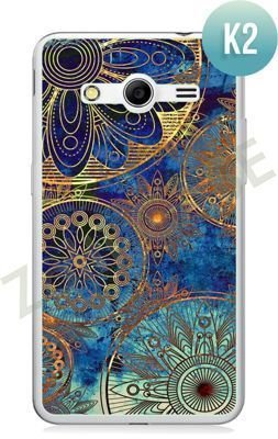 Etui Zolti Ultra Slim Case - Samsung Galaxy Core 2 - Colorfull- Wzór K2