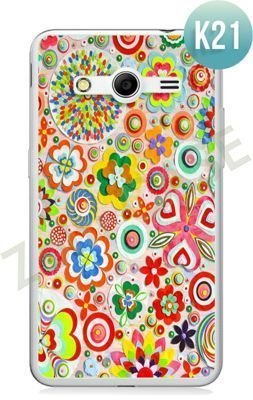 Etui Zolti Ultra Slim Case - Samsung Galaxy Core 2 - Colorfull - Wzór K21