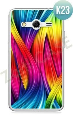 Etui Zolti Ultra Slim Case - Samsung Galaxy Core 2 - Colorfull - Wzór K23