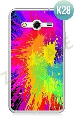 Etui Zolti Ultra Slim Case - Samsung Galaxy Core 2 - Colorfull - Wzór K28