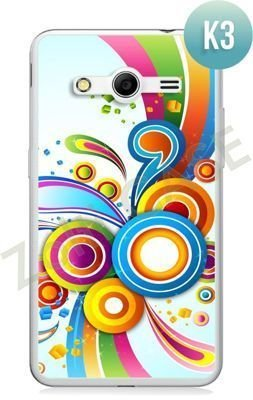Etui Zolti Ultra Slim Case - Samsung Galaxy Core 2 - Colorfull - Wzór K3