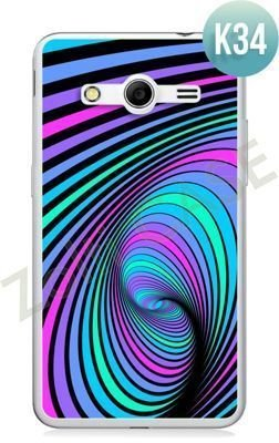 Etui Zolti Ultra Slim Case - Samsung Galaxy Core 2 - Colorfull - Wzór K34