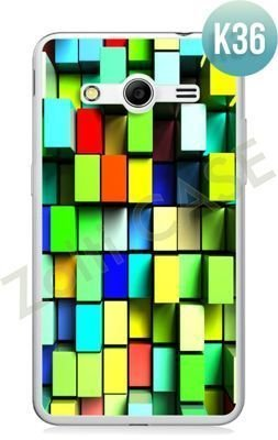 Etui Zolti Ultra Slim Case - Samsung Galaxy Core 2 - Colorfull - Wzór K36