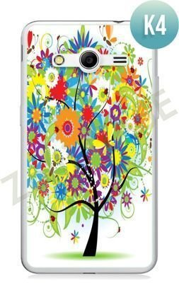 Etui Zolti Ultra Slim Case - Samsung Galaxy Core 2 - Colorfull - Wzór K4