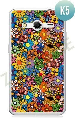 Etui Zolti Ultra Slim Case - Samsung Galaxy Core 2 - Colorfull - Wzór K5
