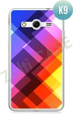 Etui Zolti Ultra Slim Case - Samsung Galaxy Core 2 - Colorfull - Wzór K9