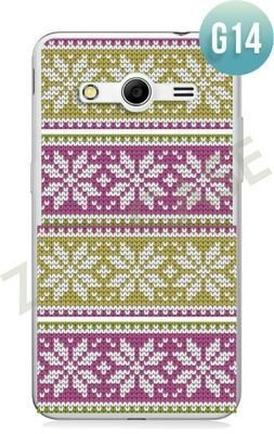 Etui Zolti Ultra Slim Case - Samsung Galaxy Core 2 - Girls Stuff - Wzór G14