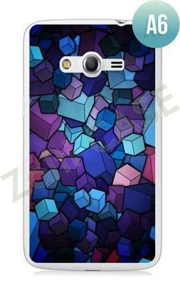 Etui Zolti Ultra Slim Case - Samsung Galaxy Core LTE - Abstract - Wzór A6