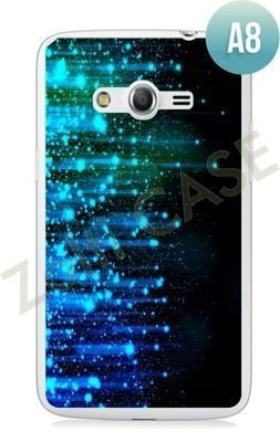 Etui Zolti Ultra Slim Case - Samsung Galaxy Core LTE - Abstract - Wzór A8