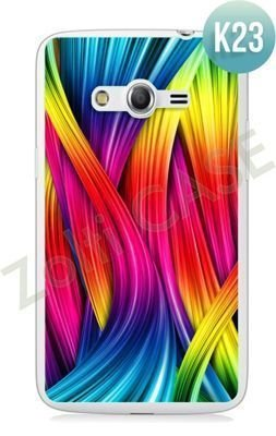 Etui Zolti Ultra Slim Case - Samsung Galaxy Core LTE - Colorfull - Wzór K23