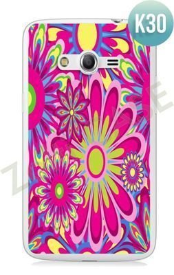 Etui Zolti Ultra Slim Case - Samsung Galaxy Core LTE - Colorfull - Wzór K30