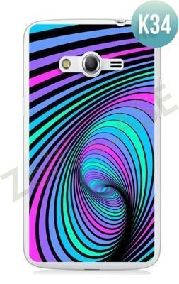 Etui Zolti Ultra Slim Case - Samsung Galaxy Core LTE - Colorfull - Wzór K34
