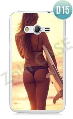 Etui Zolti Ultra Slim Case - Samsung Galaxy Core LTE - Erotic - Wzór D15
