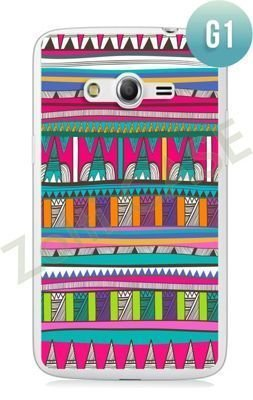Etui Zolti Ultra Slim Case - Samsung Galaxy Core LTE - Girls Stuff - Wzór G1