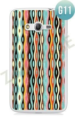 Etui Zolti Ultra Slim Case - Samsung Galaxy Core LTE - Girls Stuff - Wzór G11