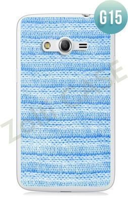 Etui Zolti Ultra Slim Case - Samsung Galaxy Core LTE - Girls Stuff - Wzór G15