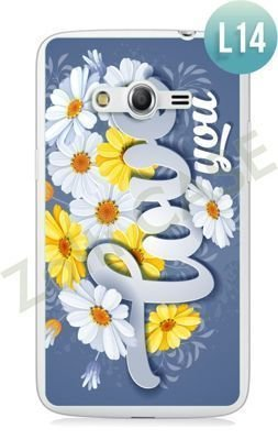Etui Zolti Ultra Slim Case - Samsung Galaxy Core LTE - Romantic - Wzór L14